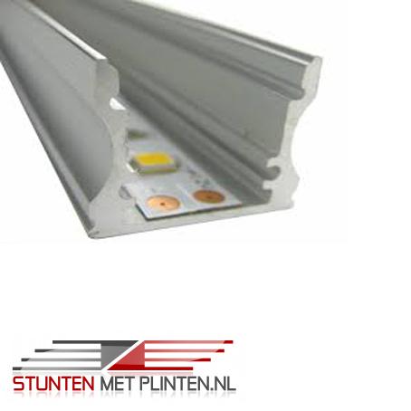 Onze LED armatuur+LED strip