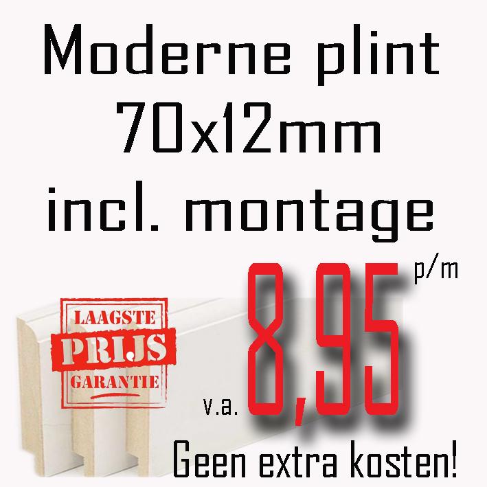 Aanbieding 70x12 €8,95 p/m